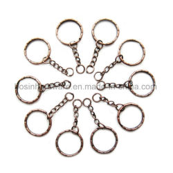 Kupfernes Metallschlüsselring-Kettenfinden