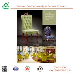 Meubles de salle de l'hôtel Armless Antique chaise en bois
