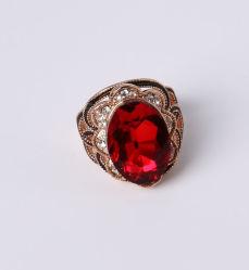Oro rosa Bisutería con cristal y Rhinestones