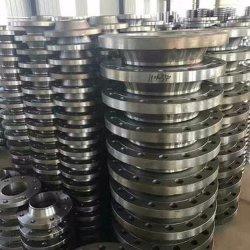 Le collier du tuyau industriel Adaptateur forgé de forgeage 6 trou de la plaque en acier au carbone Bride DIN