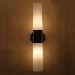 El Hotel Las habitaciones Baño IP44 con doble cristal de la luz de la sombra de la lámpara de pared apliques