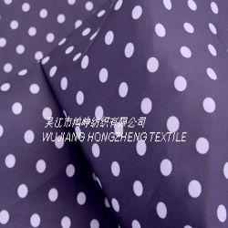 Tissu imprimé de polyester pongés