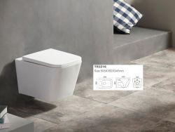 2021 Ziax UF vierkante vorm Soft-Close Badkamer Accessoires WC-stoel
