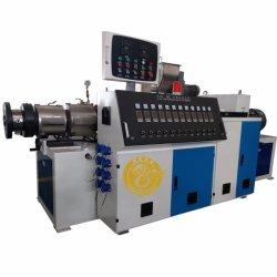 O plástico PE/PVC/PPR/HDPE/LDPE/tubos de CPVC/UPVC TUBO/// Extrusora de perfil único parafuso/ Parafuso Duplo / Twin cónico/ máquina de extrusão paralelo Coxim Extrusor