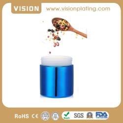 16oz de gros de meilleure qualité placage plastique Soft-Touch Jar vide