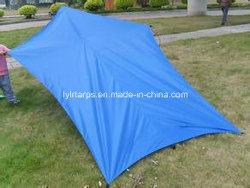 Пластиковый мешок палатки, PE тент палатки, полимерная плотный брезент палатки