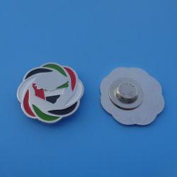 Neue Auslegung UAE-Karten-Metallkleid-Magnet-Stifte, gesammelter UAE-Markierungsfahnen-Brosche-KragenPin
