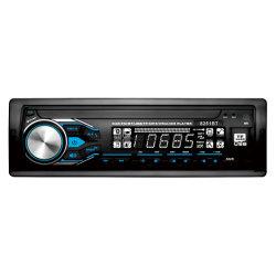 مشغل MP3 للسيارة بحجم DIN واحد قابل للفصل مع Aux/USB/SD
