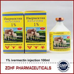 Veterinaire Geneeskunde 1% Injectie Ivermectin