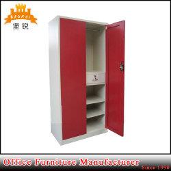 Armario de acero de la puerta caliente de la venta 2 para el almacenaje de la ropa
