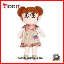 Bambola della peluche della bambola della peluche farcita bambola su ordine