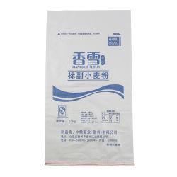 La Chine en matière plastique usine PP tissés Sac de farine de maïs de blé de l'emballage