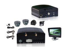 4 CH HDD Mobile DVR, встроенный GPS/3G/Wi-Fi, мониторинга в реальном времени, поддержка жесткого диска и 64 ГБ карта памяти SD