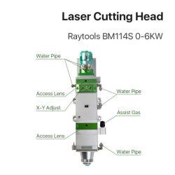 Bm Raytools114s tête de coupe de laser à fibre pour machine de découpe de métal