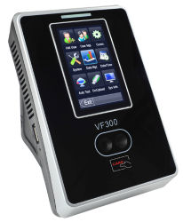 Borne d'identification Multi-Biometric faciale VF300 face machine attendane
