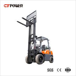 CT力ガソリンまたは電池の上昇1.5t/1.8t/2t/2.5t/2.5t/3t/3.5tのディーゼル電気LPGのフォークリフトパレット車輪のトラック