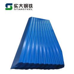 PPGI Chromed Wellpappe Metalldach Blech Verzinkte Wellblech-Dachblech