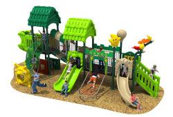 屋外の運動場のスライド新しいデザイン装置の子供のプラスチック娯楽装置