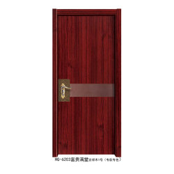 Badezimmer-Eiche furnierte Aschen-hölzerne feste Tür
