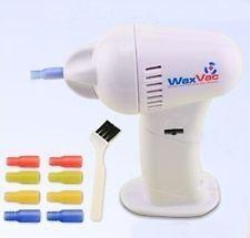 왁스 VAC 귀 세탁기술자
