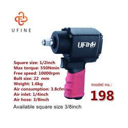 1/2 휴대용 Pnematic는 공기 충격 토크 렌치를 도구로 만든다