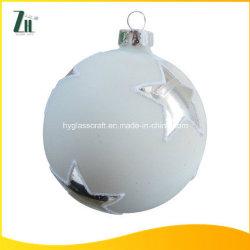 La décoration de Noël Artisanal Bille de verre