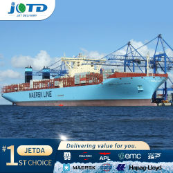 Más barato fiable DDU DDP Servicio de Logística de Transporte Marítimo Transporte por mar de China a Chennai, India Pakistán