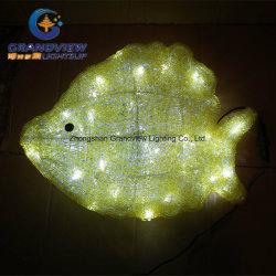 العثور على ديكور نيمو السمك الأصفر أكريليك LED