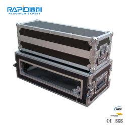 Custodia portatile in alluminio per valigia in alluminio di alta qualità