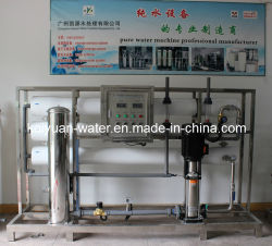 6000L/H RO l'eau distillée Osmose Inverse machine/l'eau distillée/ Usine de purificateur d'eau distillée