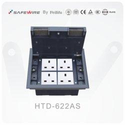 Presa di /Electrical certificata Ce del contenitore di zoccolo del pavimento di TUV/presa di servizio