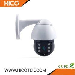 Calle exterior impermeable Onvif Wireless WiFi alarma seguimiento automático de seguridad doméstica de audio mini cámara CCTV IP DOMO PTZ