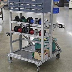 2019 Venta caliente Personalizar perfil de aluminio Workbench