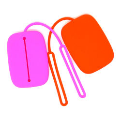 Touche de mode Boratat cas portefeuille clé de silicone de marque Coin sac sac à main