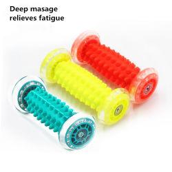 Nouveau design Corps en plastique de gros / pied / Cou Massage rouleau de roue