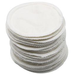 Almofada de algodão puro para limpeza de Enfermagem reutilizáveis lavável compõem extracção panos de algodão de bambu Pano Removedor de maquiagem Almofada de enfermagem