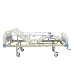 Medizinische mechanische Kurbel-Funktions-manuelles Krankenhaus-Bett des Steuerfowler-2