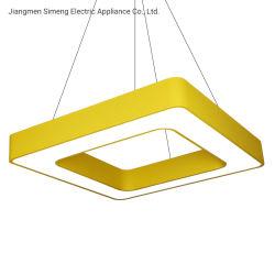 800*800 LEIDENE van de Verkoop van mm het Hangen van de Lamp van het Plafond van de Opslag van de Hete de Vierkante Wandelgalerij van de Supermarkt Moderne Eenvoudige Commerciële Lichte Verlichting van het Bureau