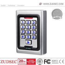 Toque de reconocimiento facial IP Metal biométrico de huellas dactilares RFID Control de acceso a la puerta