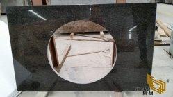Perle noir/blanc en marbre/granit pour comptoir/Cuisine/Salle de bains/plans de travail/vanité Haut de page