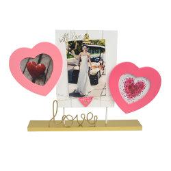 В форме сердечка свадебные фотографии комбинации рамы для дома украшения