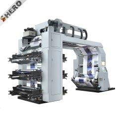 1 Machine van de Druk van het Etiket Flexo van Machineautomatic van de Druk van Flexo van de Grootte van de kleur de Kleine Ci Gebruikte