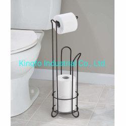 Houder van het Weefsel van het Toiletpapier van de Badkamers van de Draad van het metaal de Vrije Bevindende, de Bus van de Reserve van het Broodje voor Jonge geitjes Kfr40021