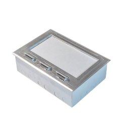 Passare il contenitore di zoccolo per il pavimento d'acciaio di Floor&Movable