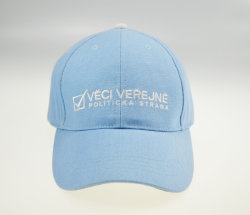 BSCI blaue Segeltuch-Sport-Golf-Baseballmütze