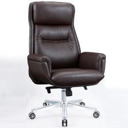 Erstklassiges justierbares Höhen-Rückseiten-Schwenker-Stuhl-echtes Leder-Drehmanager-Chef-Leitprogramm stützen Eames Stuhl-Büro-Stuhl für Büro-Möbel