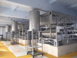 Macchina d'asciugamento del fango della filtropressa della cinghia di trattamento di acque di rifiuto di industria tessile