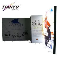 접을 수 있는 프레임 전기 자전거 전람을 광고하는 도매 직물