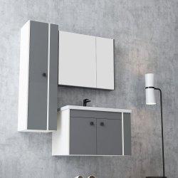 新しいスカンジナビアのスペイン様式のホーム商品の灰色の浴室木虚栄心