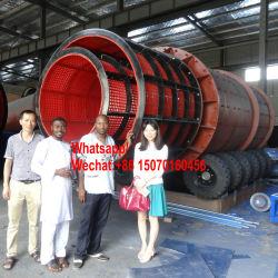 Zeeftrommel van de Gaszuiveraar van de Wasmachine van de Goudwinning van de klei de Roterende